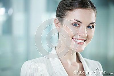 Beautiful clerk