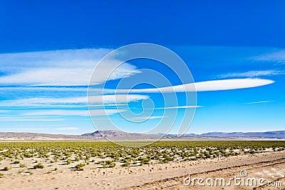 Beautiful clouds on Altiplano,Bolivia