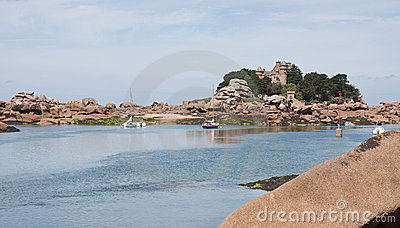 Beautiful coast  Granite Rose of Brittany