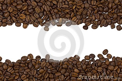 Beautiful coffee beans background