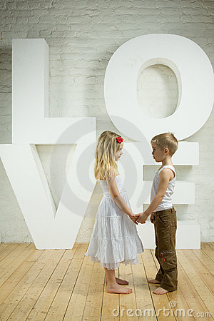 Beautiful couple - love background