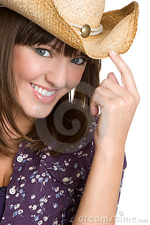 Free Beautiful Cowgirl Stock Photography - 9157812