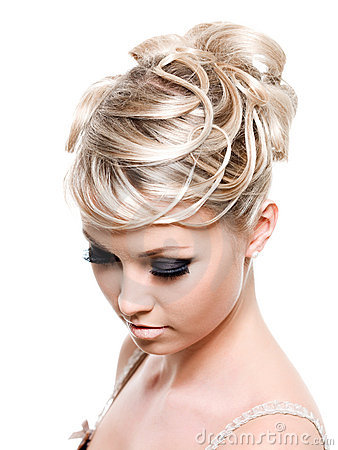 Free Beautiful Creative Hairstyle Stock Photos - 14022503