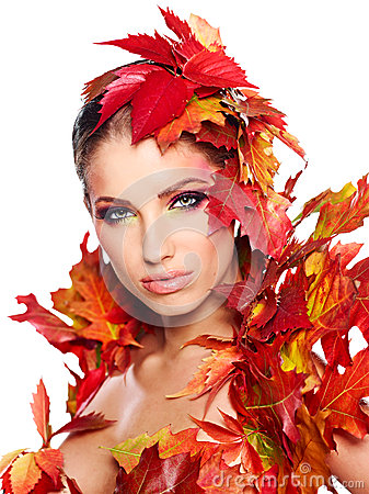 Beautiful creative makeup