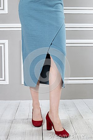Free Beautiful Cutout On Skirt Royalty Free Stock Photos - 113614878