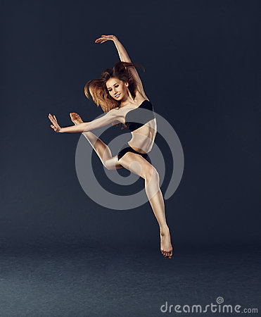 Free Beautiful Dancer Dancing Dance Ballet Contemporary Style Stock Image - 40394551