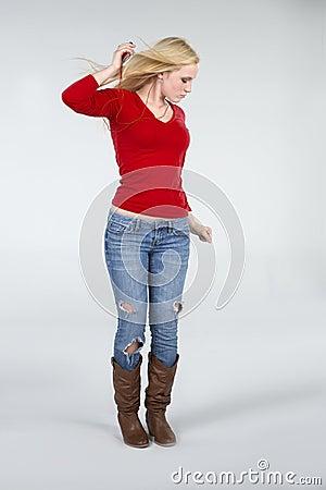 Beautiful Dancing Woman