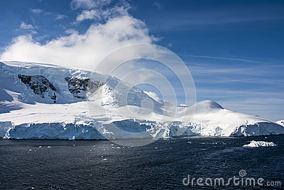 A beautiful day in Antarctica