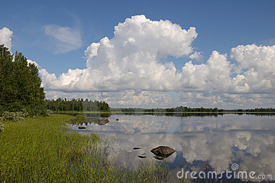 Beautiful day in Karelia region
