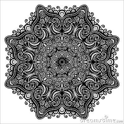 Mandala difficile - Mandala beau et difficile ...