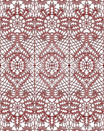 Beautiful delicate openwork lace