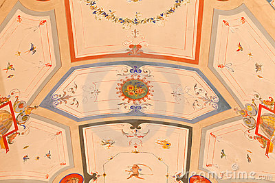 Beautiful Depicted Ceiling