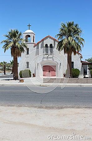 Beautiful Desert Church