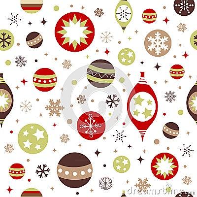 Beautiful design Christmas seamless pattern