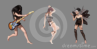 Beautiful Digital Characters