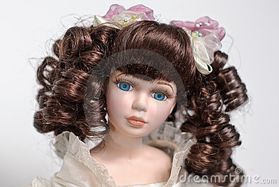 Beautiful dolls portrait