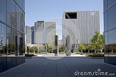 Beautiful downtown of modern city Dallas
