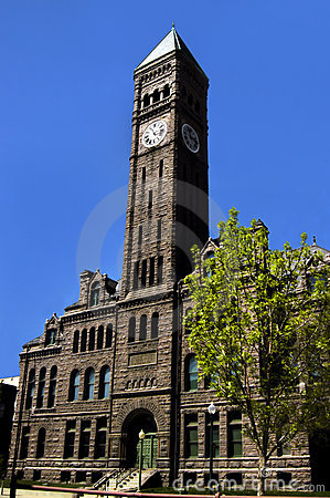 Free Beautiful Downtown Courthouse Stock Photo - 5919280