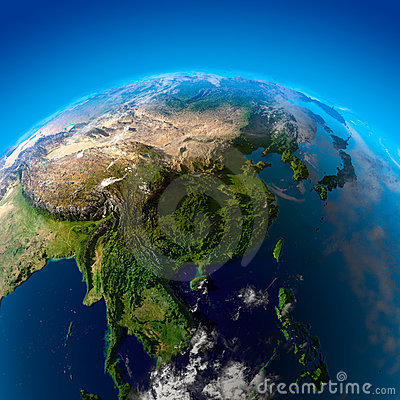 Beautiful Earth - East Asia from