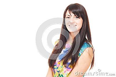 Beautiful european young girl