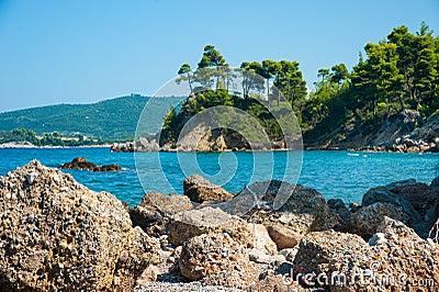 Beautiful Evia Island Beach