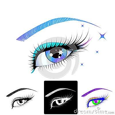 Free Beautiful Eye Royalty Free Stock Photo - 12607555