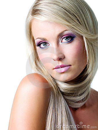 Free Beautiful Face Of Blond Woman Stock Images - 15263404