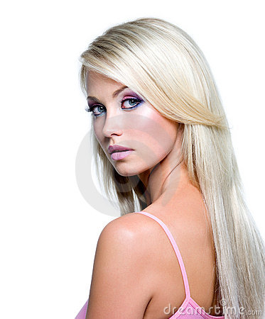 Free Beautiful Face Of Blond Woman Royalty Free Stock Image - 15263476