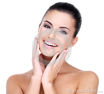Free Beautiful Face Of Smiling  Woman Stock Image - 38897481