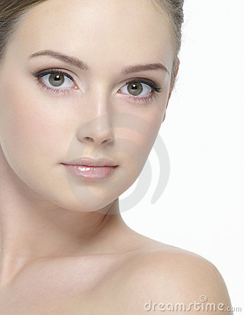 Free Beautiful Face Of Young Woman Royalty Free Stock Photography - 19045477