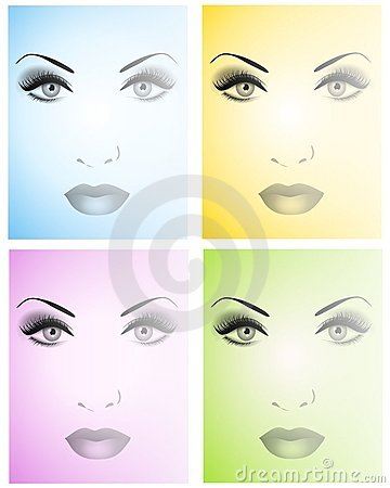 Beautiful Faces Backgrounds