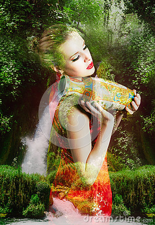 Free Beautiful Fairy Woman Royalty Free Stock Photography - 48064797