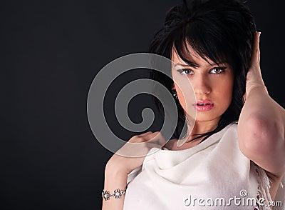 Beautiful fashion girl