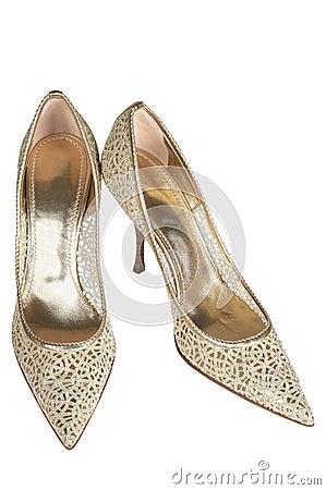 Beautiful female shoes