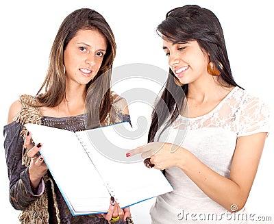 Beautiful female students