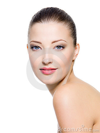 Free Beautiful Female With Fresh Clean Skin Stock Images - 17323814