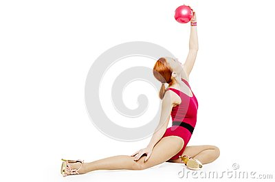 Fitness model with ball