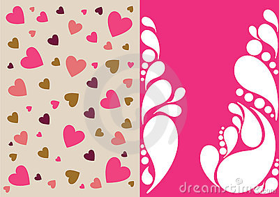 Beautiful floral abstract background in soft pink