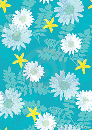 Free Beautiful Floral Pattern Seamless Tile Royalty Free Stock Image - 2854896