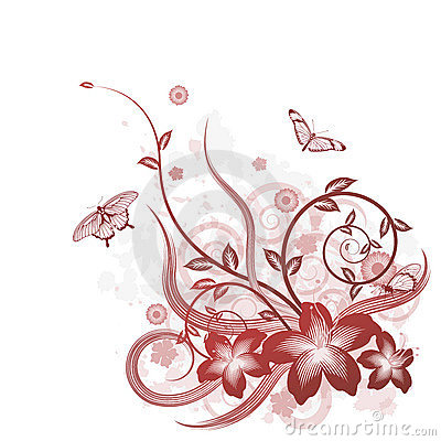 Beautiful Flower Picture on Beautiful Flower Background Motif Royalty Free Stock Photos   Image