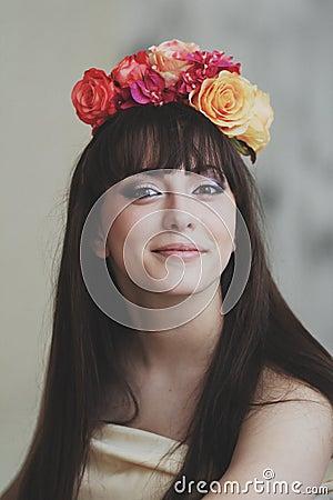 Free Beautiful Flower Girl Stock Photos - 70317913