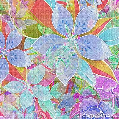Beautiful flower mix