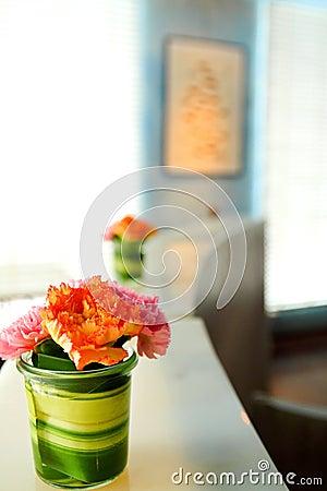 Beautiful flower in room