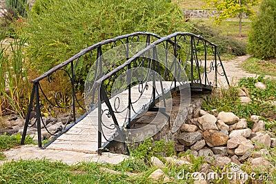 Beautiful footbridge