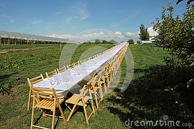 Beautiful formal table