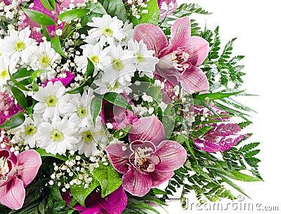 Beautiful  fresh flowers bouquet