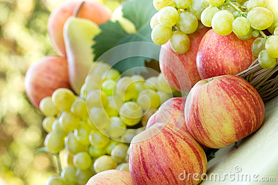 Beautiful fruits