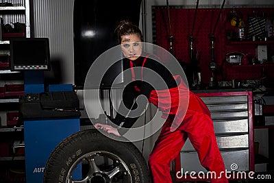 Beautiful Garage Girl