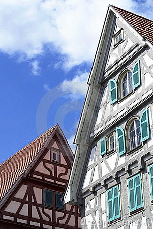 Free Beautiful German Architecture Royalty Free Stock Images - 3465909