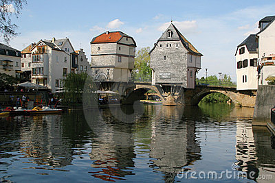 Beautiful German architecture - Bridge Houses